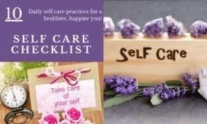 Daily Self Care Checklist FI