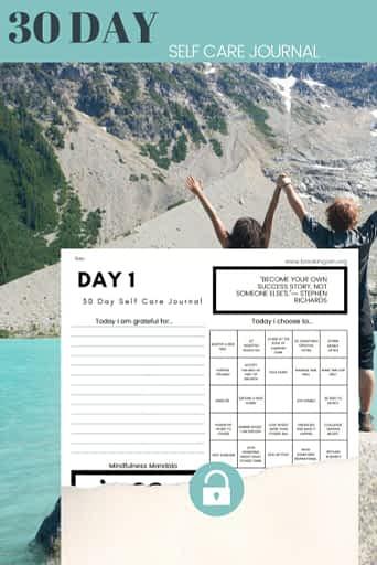 Self Care Journal PDF